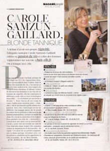 Article Figaro Madame 8.12.2012