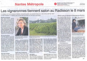 Article Ouest-France 2 mars 2013