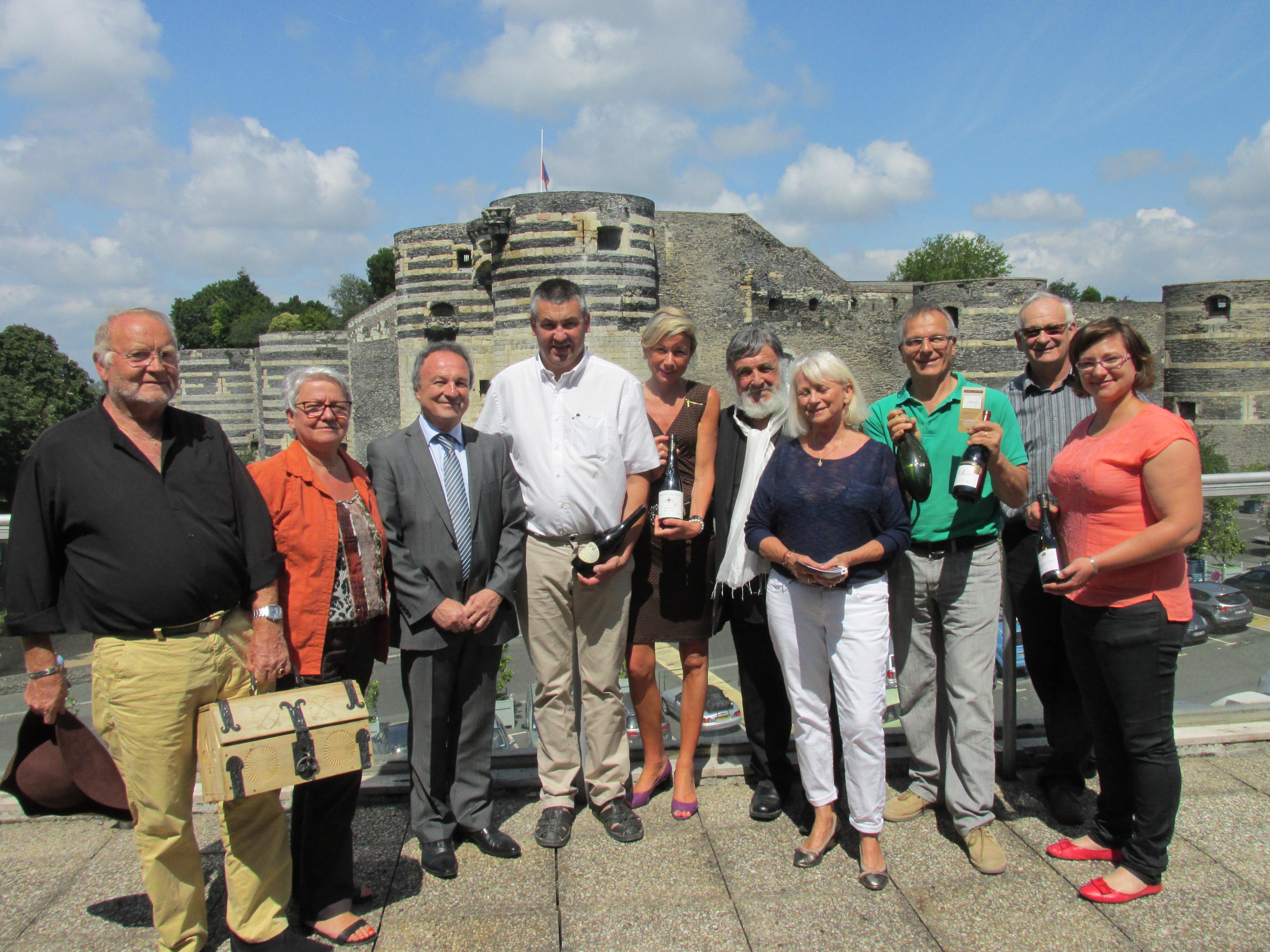 conférence de presse château du Roi René Angers 30-7-2014 001