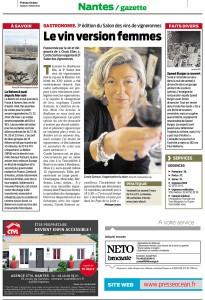 Presse-Océan 3 mars 2015
