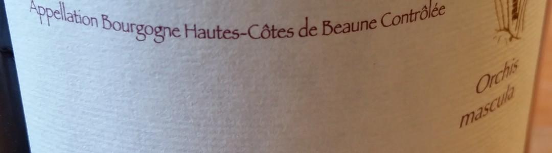Bourgogne Hautes Côtes de Beaune Orchis Mascula 2009 Domaine Henri Naudin Ferrand