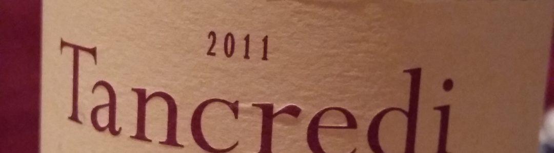 Donnafugata  Tancredi  2011: un délicieux  vin sicilien….
