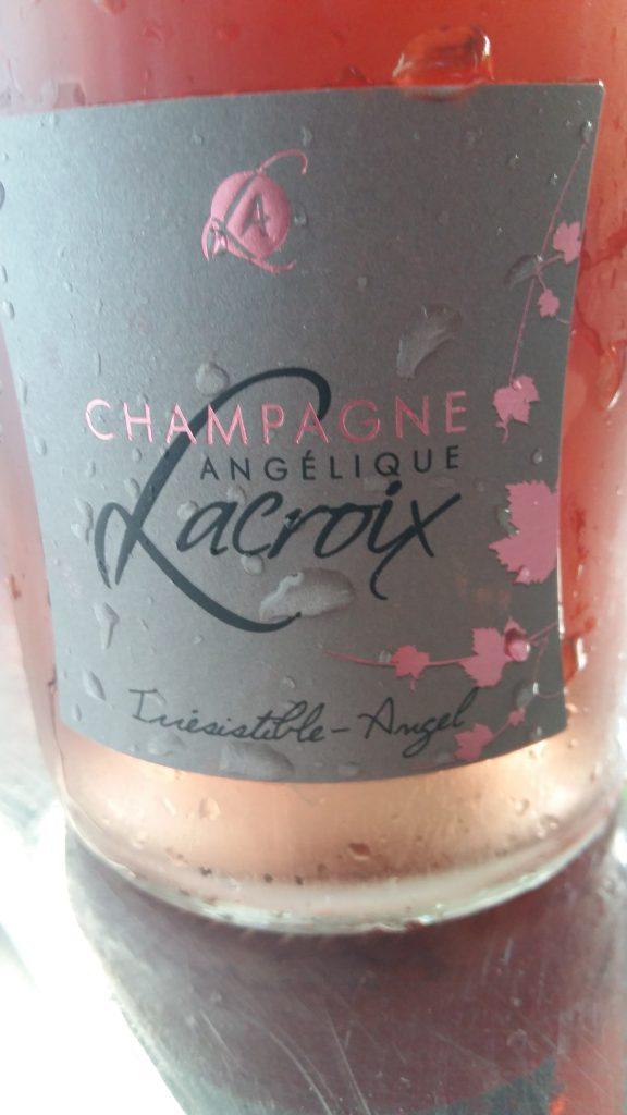 Champagne Rosé Irrésistible – Angel  Champagne  Angélique Lacroix