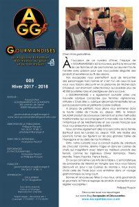 Gourmandises Hiver 2017