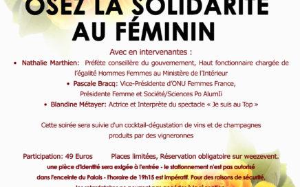 Soirée Prestige Osez la solidarité au féminin