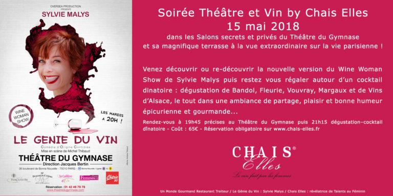 Soirée Vin et Theatre