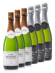 Coffret 6 Champagnes Colette Bonnet