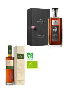 Coffret 2 bouteilles Cognac Hardy