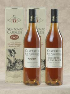 Coffret Armagnac Castarède-VSOP-HA