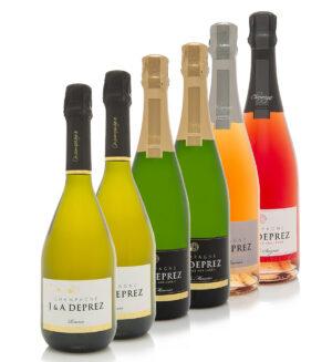Coffret 6X Champagne Deprez
