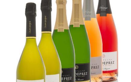 Coffret 6 Bouteilles Champagne Deprez