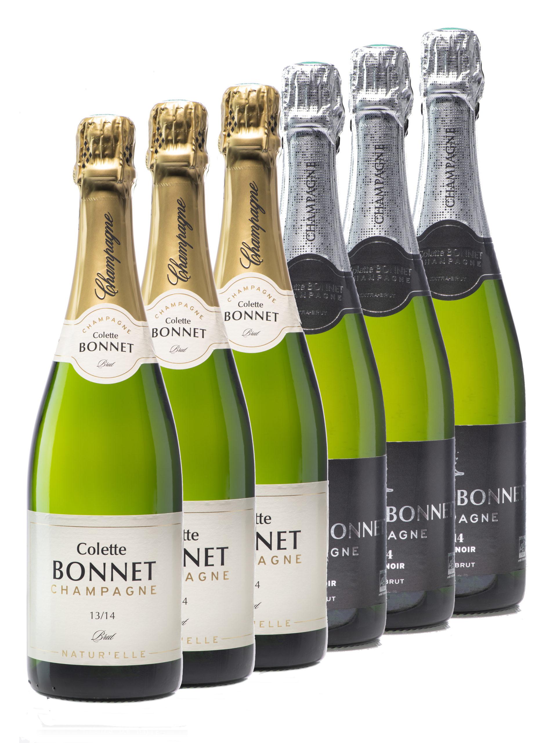 Coffret 6 bouteilles Champagne Bonnet