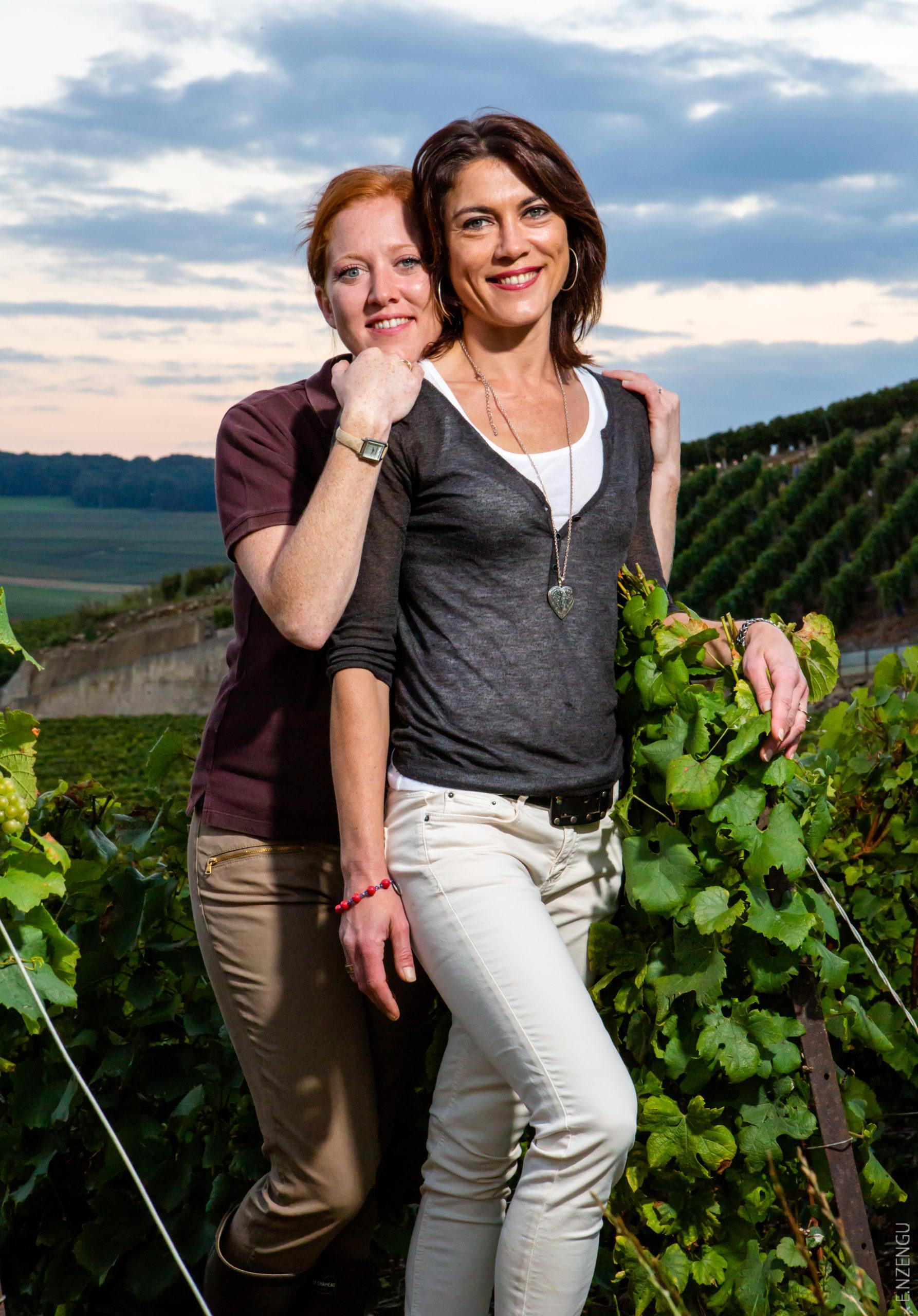 Anne-Sophie et Bérangère Thiercelin