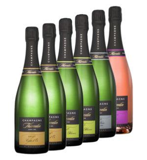 Coffret 6X Champagne Thiercelin
