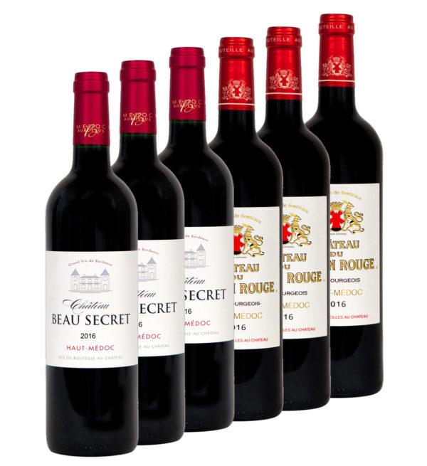 Coffret 6X Château Beau Secret