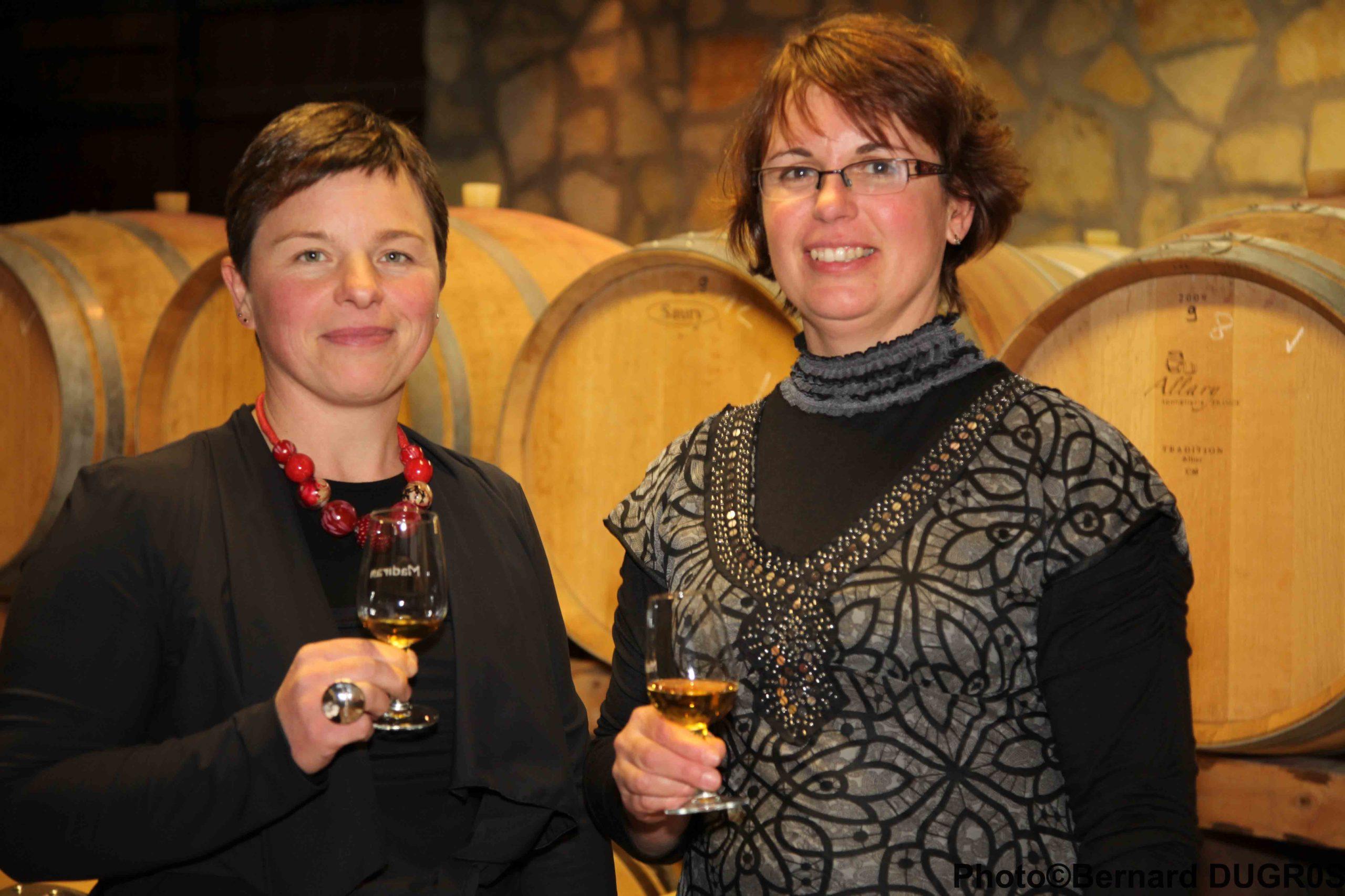 Corinne et Brigitte Dousseau